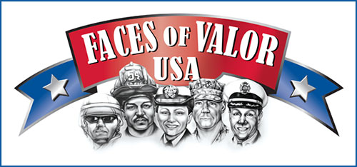 Faces of Valor Logo